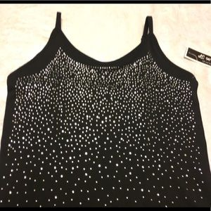 LC Couture studded tank top